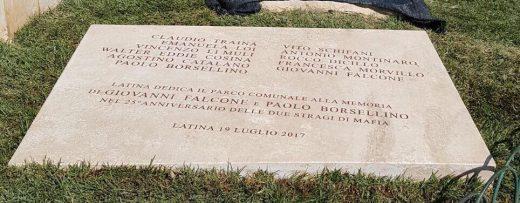 Targa Falcone e Borsellino