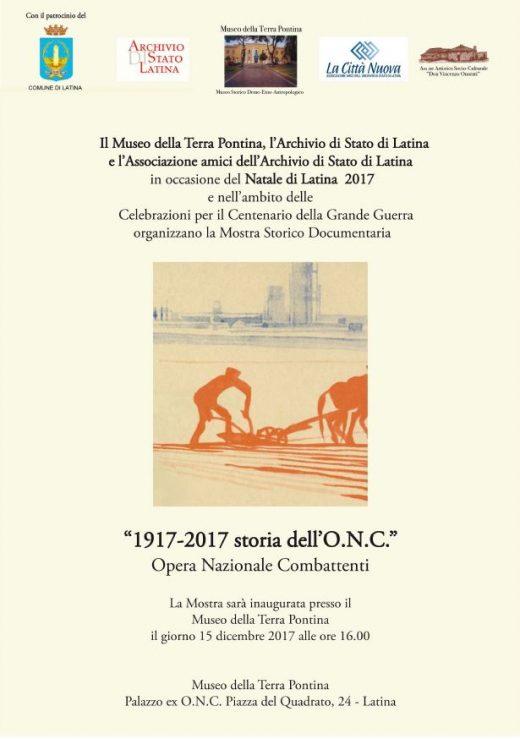 1917_2017 storia dell'onc