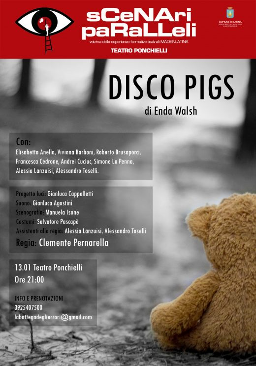 Disco Pigs Locandina