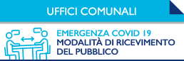 banner ingresso uffici comunali covid19